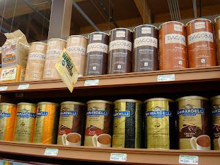 Close up of Chocolate: Cocoa & Carob Powders