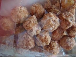 Close up of Gourmet Cinnamon Sugar Pretzel Bites in bag
