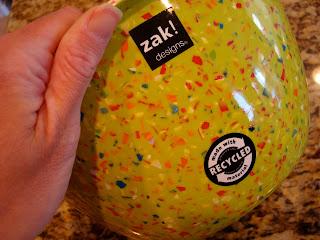Side of one Zak Nesting Bowls