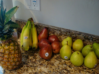 Various produce on countertop