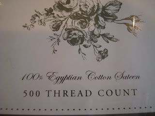 500 Thread Count Egyptian Cotton Fitted, Flat, and 2 Pillowcase Sheet Set