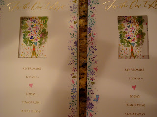 Side by side anniversary cards that are the same