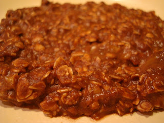 Close up of Chocolate Oat Breakfast Cookie