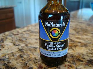 Bottle of NuNaturals Vanilla Stevia