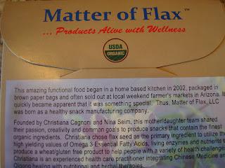 Matter of flax company statement