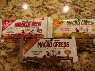 Macro Life Naturals bars