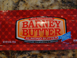 Barney Butter almond butter package