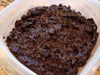 Raw Vegan Dark Chocolate Coconut Snowballs after being frozen