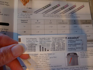 pH Test strips for Espresso Maker in package