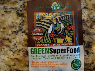 Amazing Grass Products in Chocolate Drink Powder