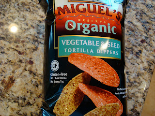 Bag of Miguel's Organic Vegetable & Seed Tortilla Dippers