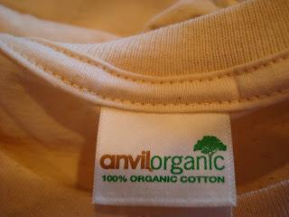 Anvilorganic t-shirt label