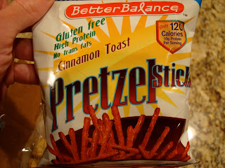 Package of Cinnamon Toast Pretzel Sticks