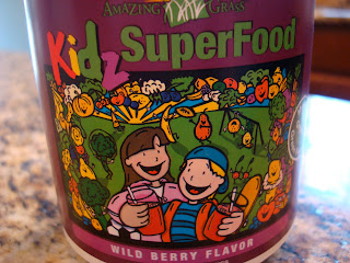 Amazing Grass Kidz SuperFood container
