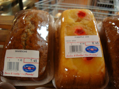 Packaged Pineapple and Banana Cakes