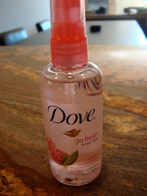 Dove Go Fresh Body Spray