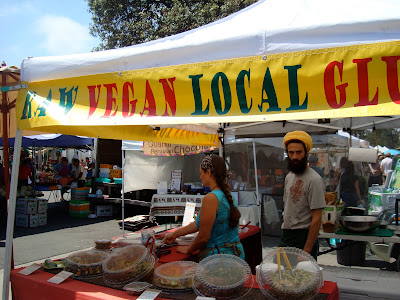 Local, Fresh, Raw Vegan, Gluten Free Vendor