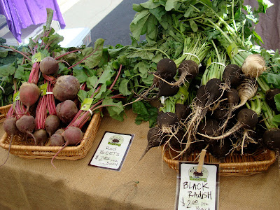 Table of Beets and Black Radishes