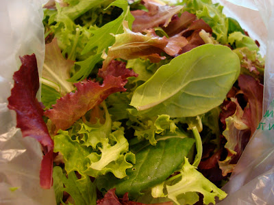 Bag of spring mix