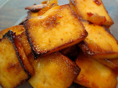 Sweet and Sour Honey Lemon Tofu