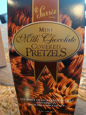 Bag of Mini Milk Chocolate Covered Pretzels