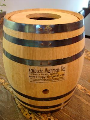 Close up of Oak Barrel