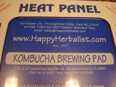 Kombucha Brewing Pad