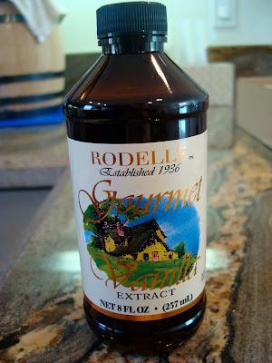 Bottle of Rodelle Gourmet Vanilla Extract