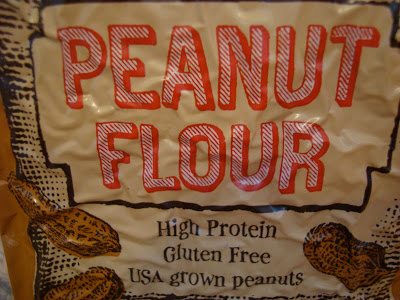 Close up of Peanut Flour - High Protein and Gluten Free