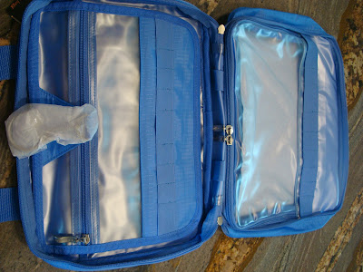 Open Blue toiletry kit