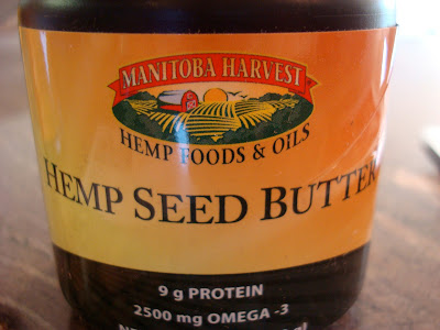Close up of Manitoba Harvest Hemp Seed Butter