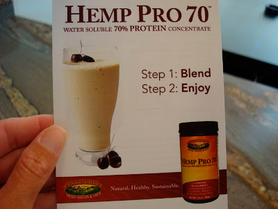 Hemp Pro 70 Info Card