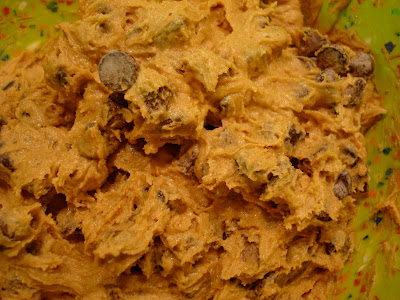 Close up of dough