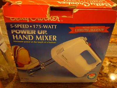 Betty Crocker Hand Mixer in box