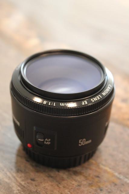 Camera Lens with UV filter
