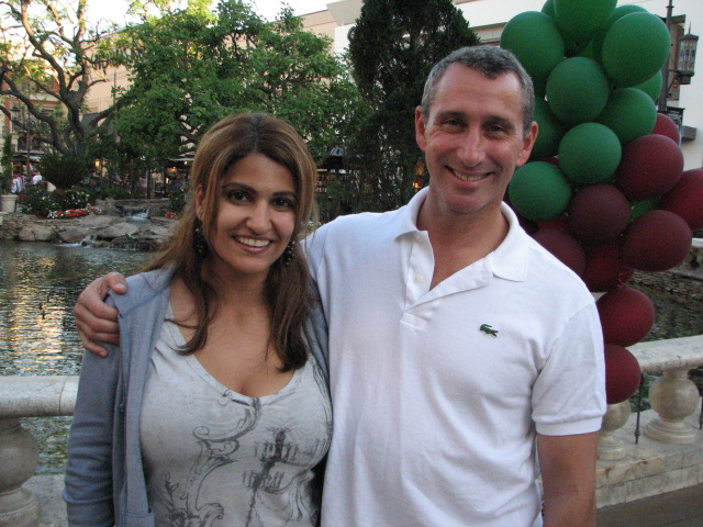 Adam Shankman directs an episode of Modern Family on location at The Grove