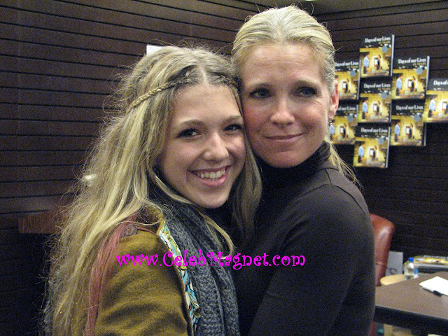 Melissa Reeves and daughter Emily Reeves at Days of Our Lives Cast book signing party