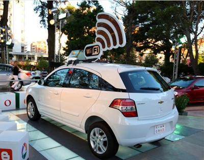 El primer Auto con Wifi en Argentina