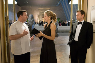 Ricky Gervais, Tea Leoni and Greg Kinnear in Ghost Town