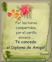 DIPLOMA DE AMIGO