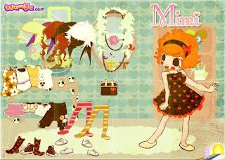 Vestidos de la muñeca Mimi