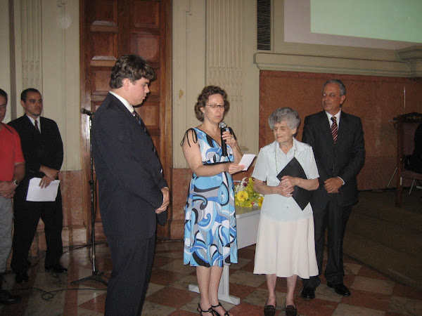 Aniversário do Comitê Brasileiro do ICOM, 9 de janeiro de 2008