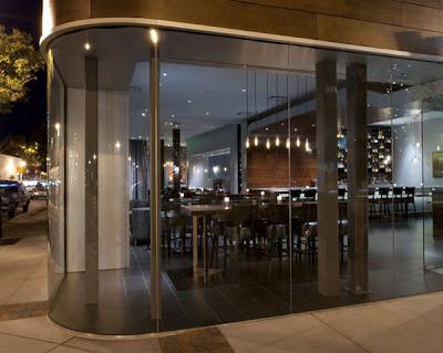 Restaurant Interior Designs on Modern Restaurant Interior Exterior Design Vesu In California