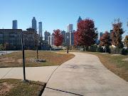 Atlanta Skyline from Freedom Parkway Trail