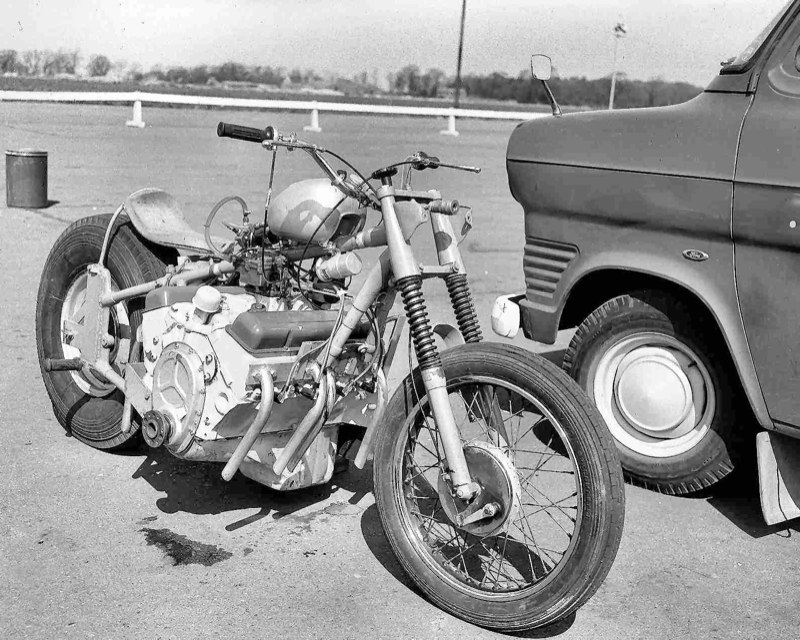how to build a bike engined car