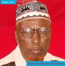 Abwan:Abdullahi Macalim Dhoodan