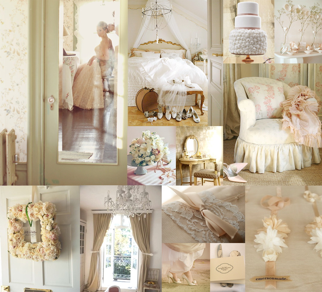 Nashville event planning peach and cream finds for Decor gold blog