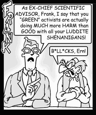 Cantankerous Frank Cartoon panel