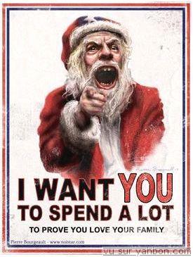 ANti consumerist Santa