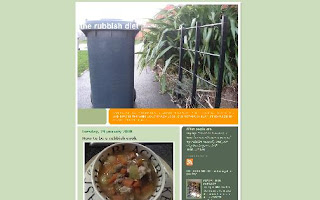 therubbishdiet.blogspot.com front page